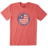 Men's Positively American Coin Crusher Tee