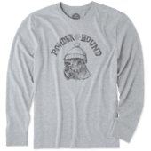 Men's Powder Hound Long Sleeve Crusher Tee