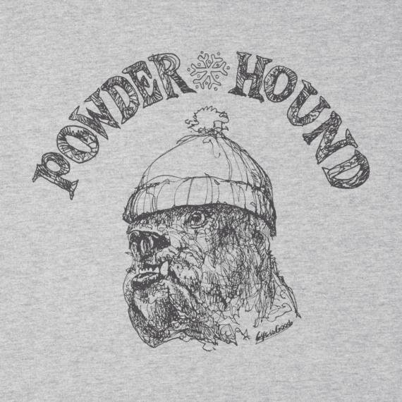 Men's Powder Hound Long Sleeve Crusher Tee