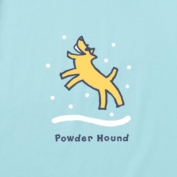 Men's Powder Hound Long Sleeve Vintage Crusher Tee
