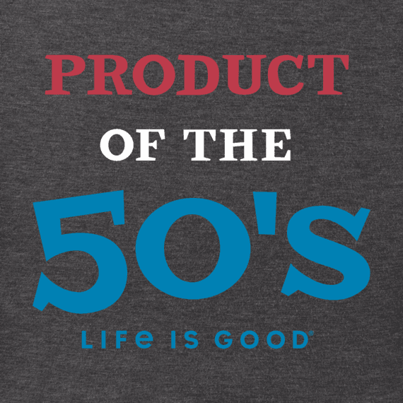 Men's Product of the 50's Crusher Tee