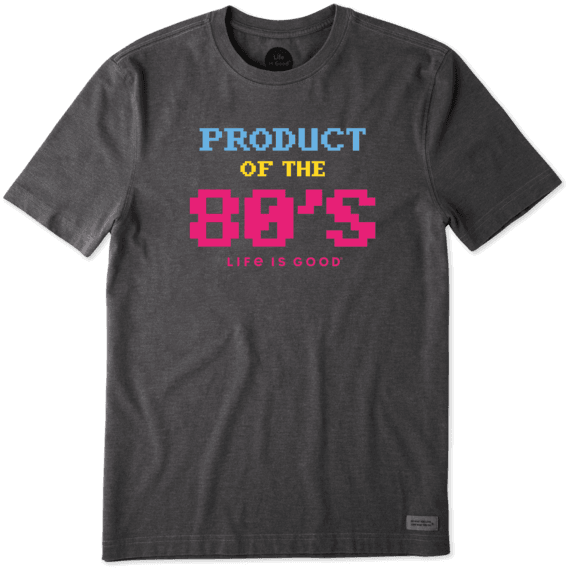 Men's Product of the 80's Crusher Tee