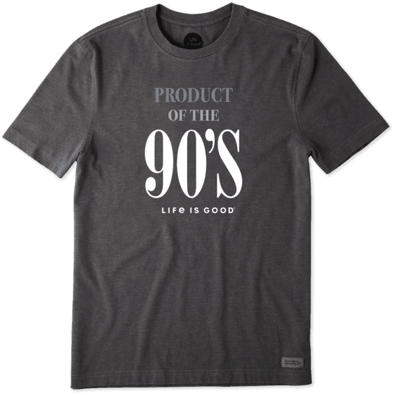 Men's Product of the 90's Crusher Tee