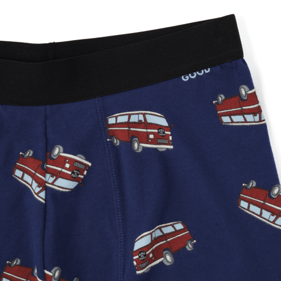 Men's Ramble On Toss Print Boxer Brief