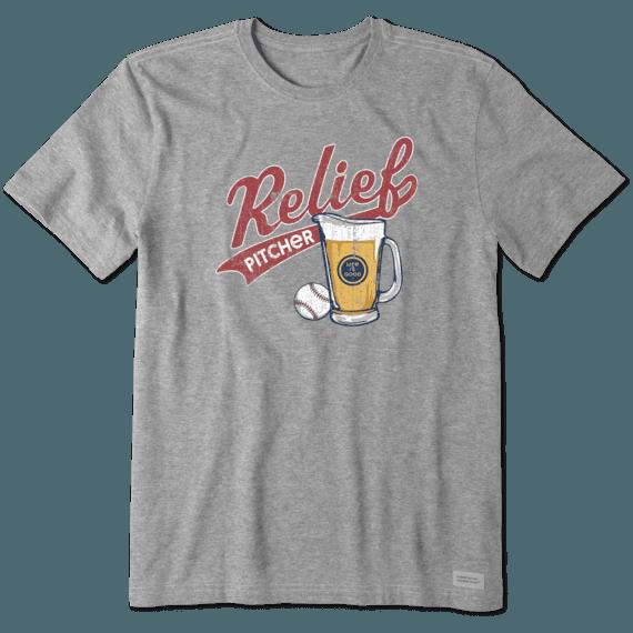 Men's Relief Pitcher Crusher Tee