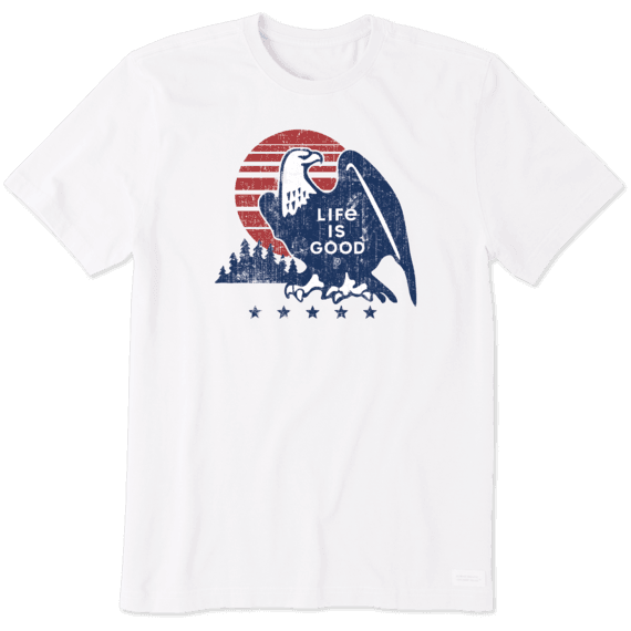 Men's Retro Eagle Crusher Tee