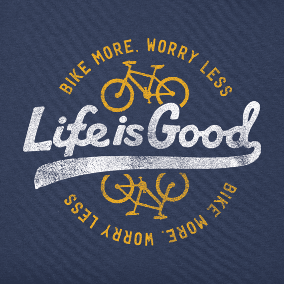 Men's Ride More Worry Less Crusher Tee
