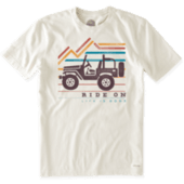 Men's Ride On Mountain Crusher Tee