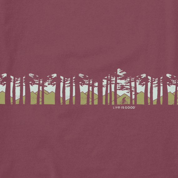 Men's Ride in the Woods Long Sleeve Crusher Tee