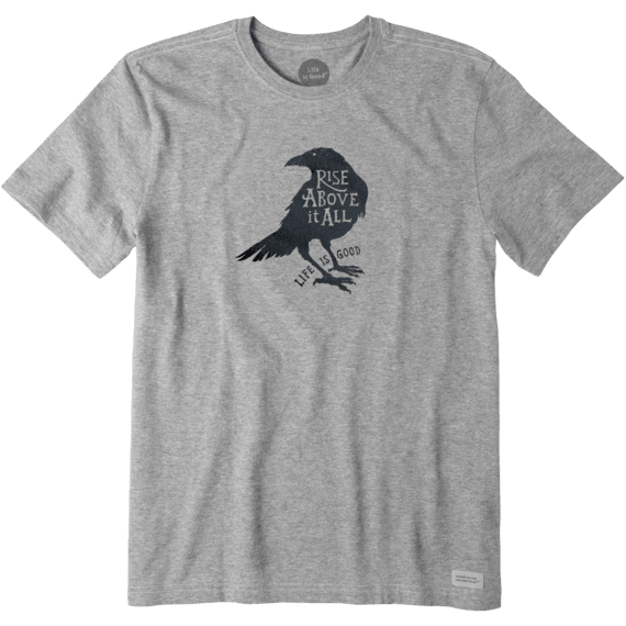 2cd75aa5 Men's Rise Above It All Raven Crusher Tee