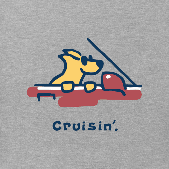 Men's Rocket Cruisin' Vintage Crusher Tee