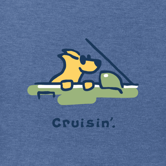 Men's Rocket Cruisin' Vintage Crusher Tee