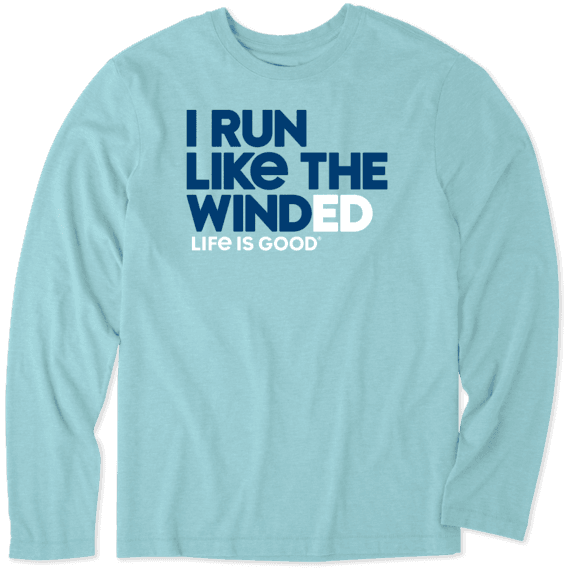Men's Run Like The Winded Long Sleeve Cool Tee