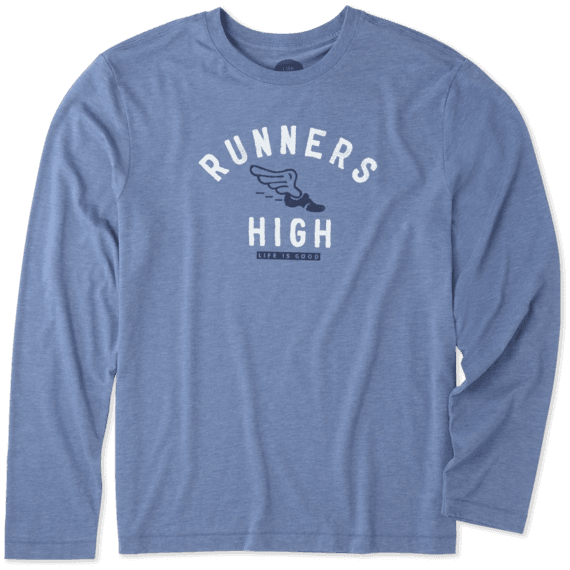 Men's Runners High Long Sleeve Cool Tee