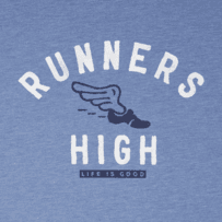 Men's Runners High Long Sleeve Cool Tee
