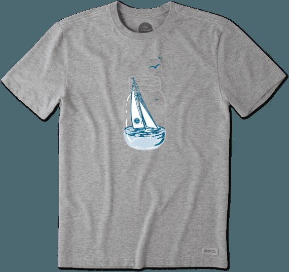 Men's Sail Jar Crusher Tee