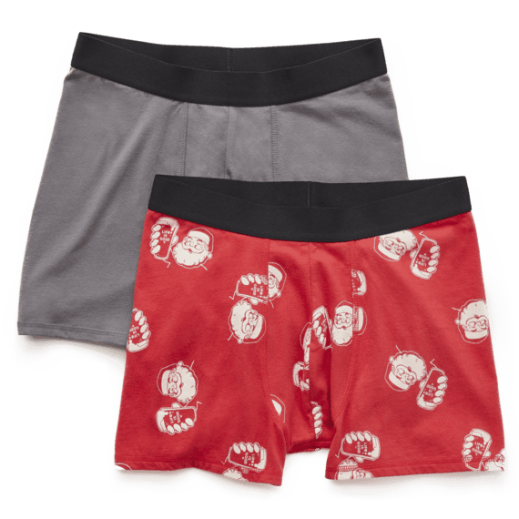 Men's Santa's Helper & LIG Boxer Brief Set