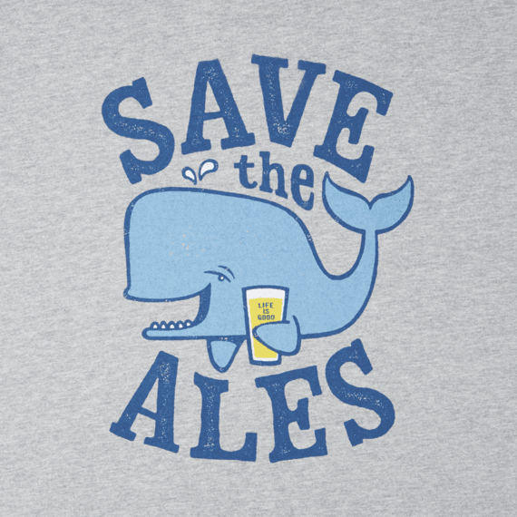 Men's Save The Ales Long Sleeve Crusher Tee