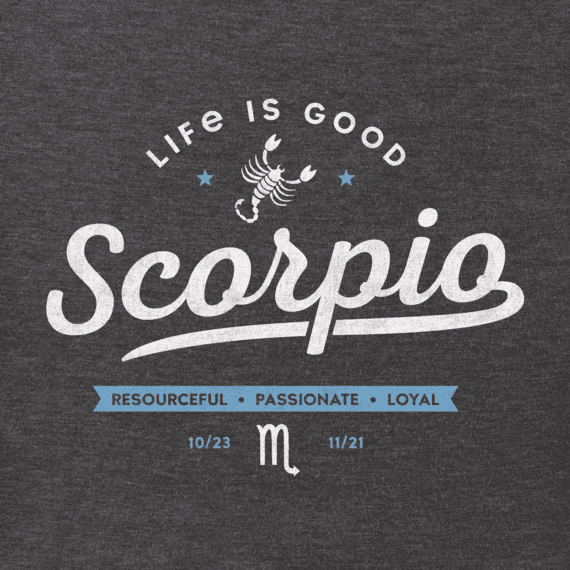 b48cbde10 Men's Scorpio Crusher Tee | Life is Good® Official Site