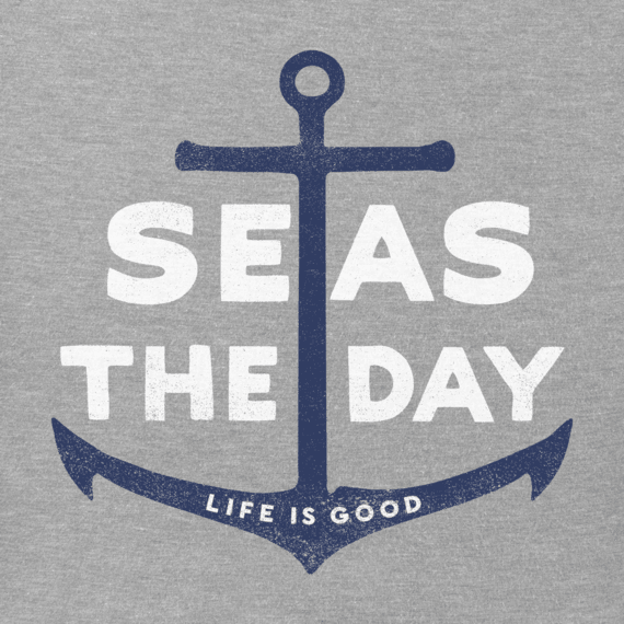 Men's Seas The Day Anchor Crusher Tee