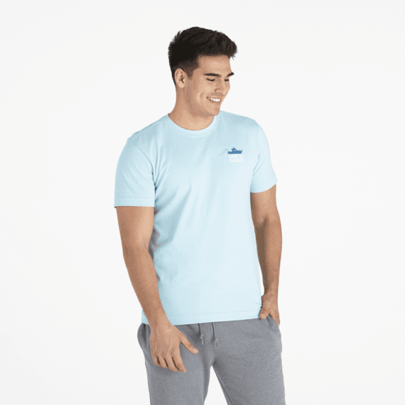Men's Seas the Day Offshore Crusher Tee