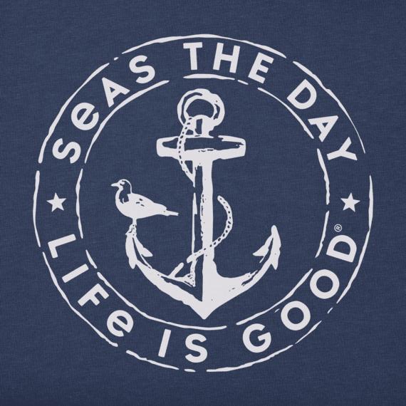 Men's Seas the Day Anchor Crusher Tee
