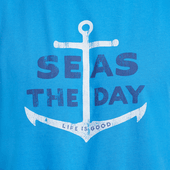 Men's Seas the Day Smooth Muscle Tees