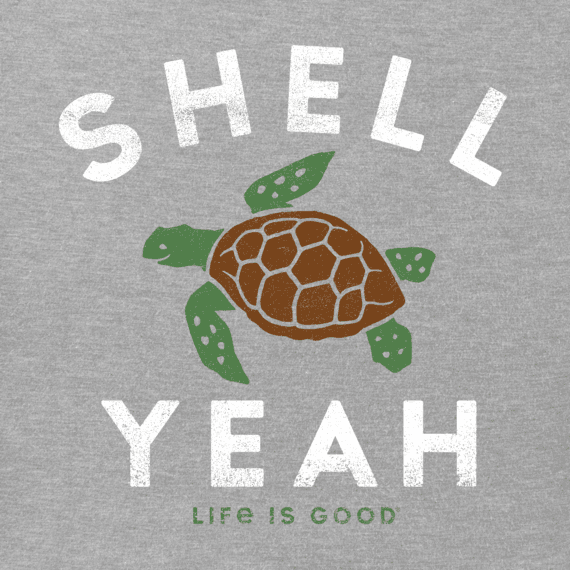 c6b282e111e Men's Shell Yeah Crusher Tee | Life is Good® Official Site