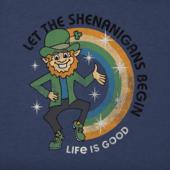 Men's Shenanigans Begin Crusher Tee
