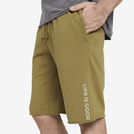 Men's Short Vert Logo Simply True Lounge French Terry Shorts