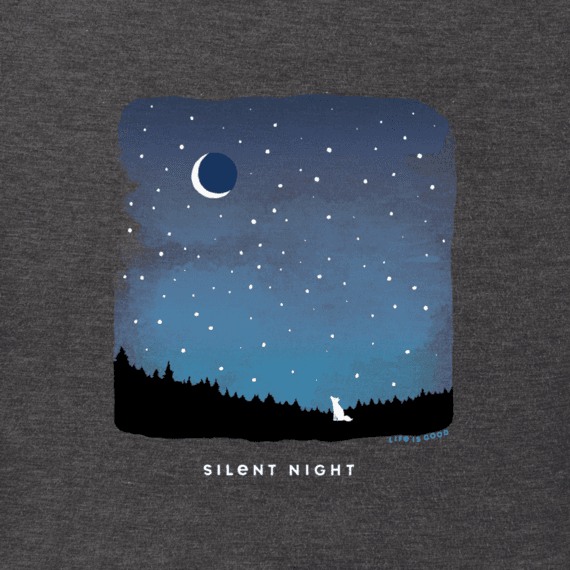 Men's Silent Night Crusher Tee