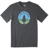 Men's Simple Pine Cool Tee