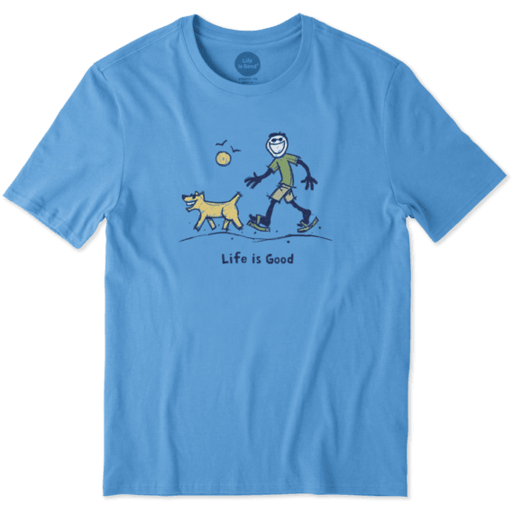 04b879030 Men's Sketchy Dog Walk Smooth Tee