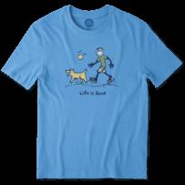 Men's Sketchy Dog Walk Smooth Tee