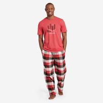 Men's Sleepy Red Plaid Classic Sleep Pant