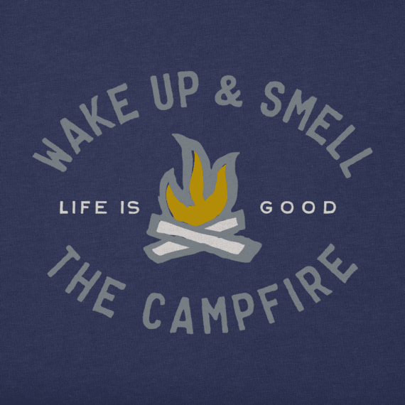Men's Smell The Campfire Crusher Tee