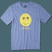 Men's Smiley Palms Cool Tee