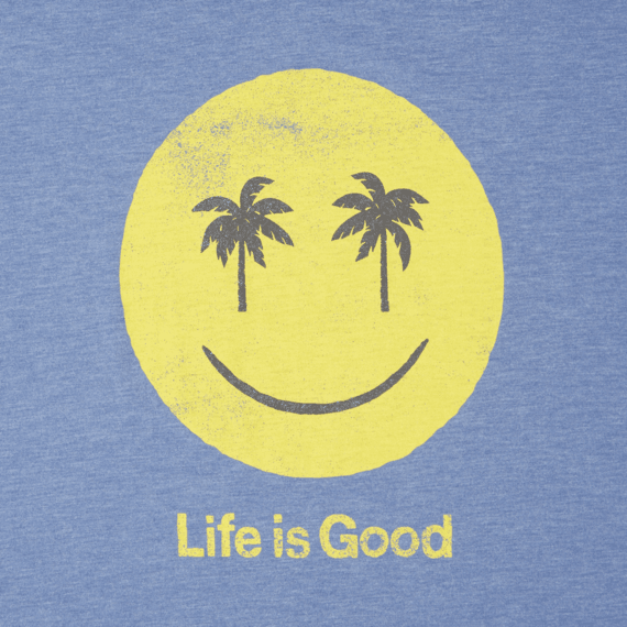 Men's Smiley Palms Cool Tee