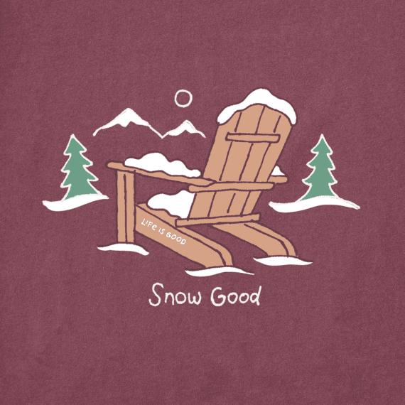 Men's Snow Good Long Sleeve Crusher Tee