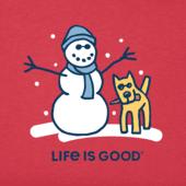 Men's Snowman And Rocket Crusher Tee