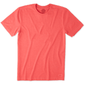 Men's Solid Crusher Tee