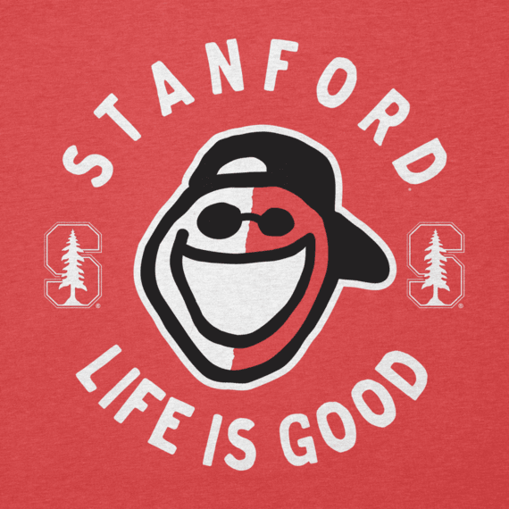 Men's Stanford Face Paint Jake Cool Tee