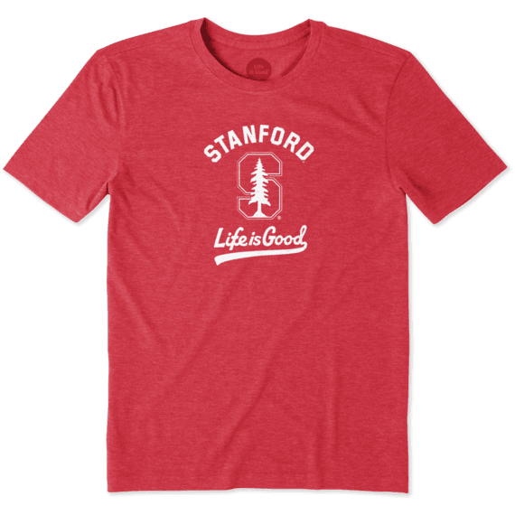 Men's Stanford Gradient Tailwhip Cool Tee