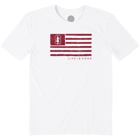 Men's Stanford Team Flag Cool Tee