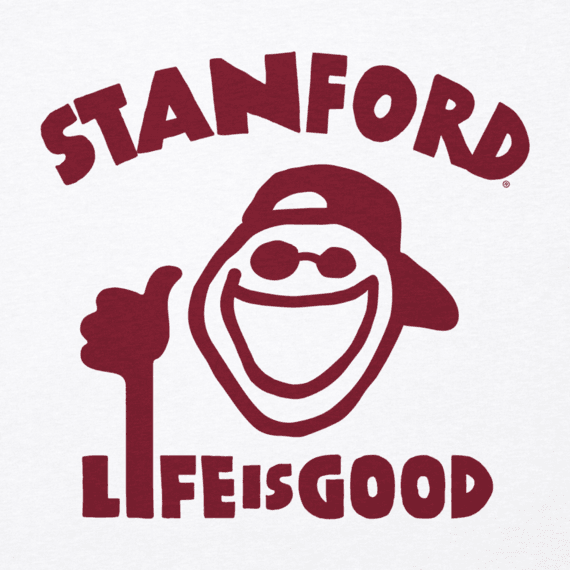 Men's Stanford University Peace Jake Cool Tee