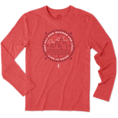 Men's Stanford Wander Long Sleeve Cool Tee