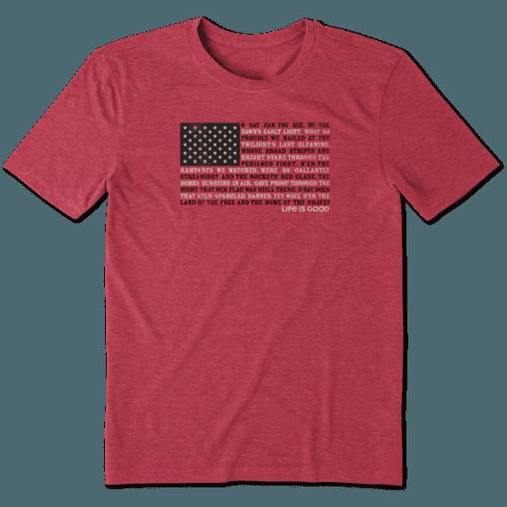 Men's Star Spangled Banner Cool Tee