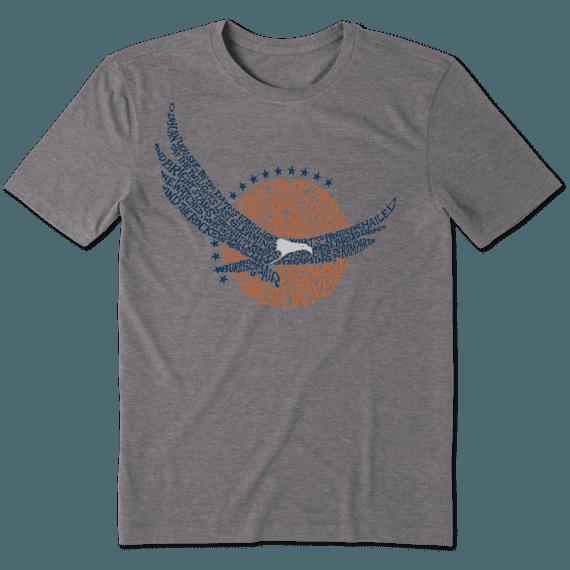 Men's Star Spangled Eagle Cool Tee