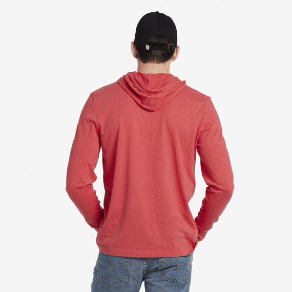 Men's Stay True Coin Long Sleeve Hooded Crusher