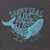 Men's Stormy Seas Whale Crusher Tee